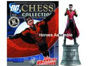 DC Chess Figurine Collection #20 Red Robin White Knight Eaglemoss